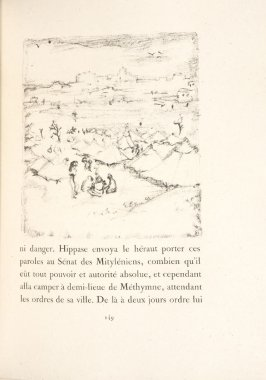 Untitled, pg. 149, in the book Daphnis et Chloé by Longus (translated by Jacques Amyot) (Paris: Ambroise Vollard, 1902).