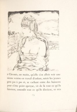 Untitled, pg. 175, in the book Daphnis et Chloé by Longus (translated by Jacques Amyot) (Paris: Ambroise Vollard, 1902).