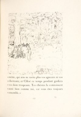 Untitled, pg. 177, in the book Daphnis et Chloé by Longus (translated by Jacques Amyot) (Paris: Ambroise Vollard, 1902).