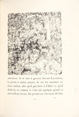 Untitled, pg. 179, in the book Daphnis et Chloé by Longus (translated by Jacques Amyot) (Paris: Ambroise Vollard, 1902).