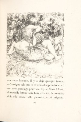 Untitled, pg. 181, in the book Daphnis et Chloé by Longus (translated by Jacques Amyot) (Paris: Ambroise Vollard, 1902).
