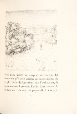 Untitled, pg. 183, in the book Daphnis et Chloé by Longus (translated by Jacques Amyot) (Paris: Ambroise Vollard, 1902).