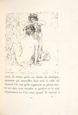 Untitled, pg. 185, in the book Daphnis et Chloé by Longus (translated by Jacques Amyot) (Paris: Ambroise Vollard, 1902).