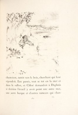 Untitled, pg. 187, in the book Daphnis et Chloé by Longus (translated by Jacques Amyot) (Paris: Ambroise Vollard, 1902).
