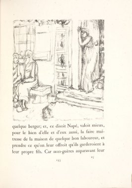 Untitled, pg. 193, in the book Daphnis et Chloé by Longus (translated by Jacques Amyot) (Paris: Ambroise Vollard, 1902).