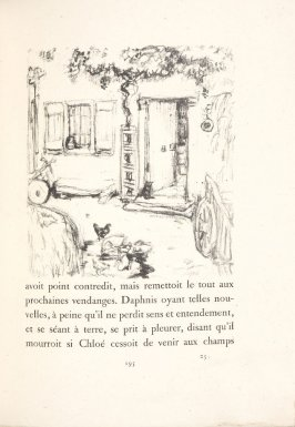 Untitled, pg. 195, in the book Daphnis et Chloé by Longus (translated by Jacques Amyot) (Paris: Ambroise Vollard, 1902).