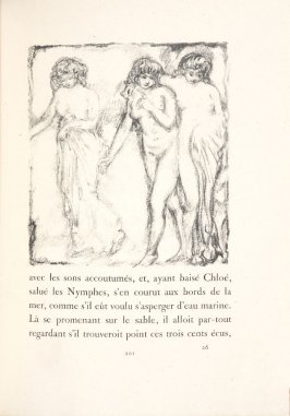 Untitled, pg. 201, in the book Daphnis et Chloé by Longus (translated by Jacques Amyot) (Paris: Ambroise Vollard, 1902).