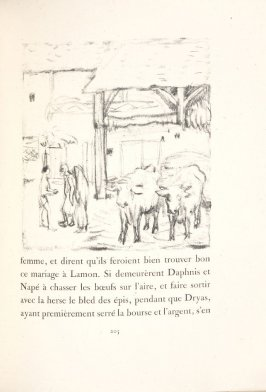 Untitled, pg. 205, in the book Daphnis et Chloé by Longus (translated by Jacques Amyot) (Paris: Ambroise Vollard, 1902).