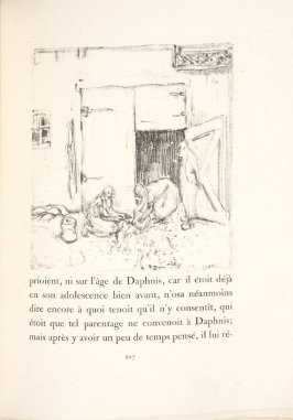 Untitled, pg. 207, in the book Daphnis et Chloé by Longus (translated by Jacques Amyot) (Paris: Ambroise Vollard, 1902).