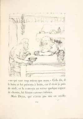 Untitled, pg. 209, in the book Daphnis et Chloé by Longus (translated by Jacques Amyot) (Paris: Ambroise Vollard, 1902).