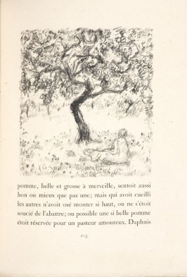 Untitled, pg. 213, in the book Daphnis et Chloé by Longus (translated by Jacques Amyot) (Paris: Ambroise Vollard, 1902).