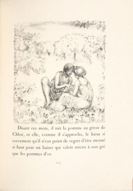 Untitled, pg. 215, in the book Daphnis et Chloé by Longus (translated by Jacques Amyot) (Paris: Ambroise Vollard, 1902).
