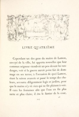Untitled, pg. 217, in the book Daphnis et Chloé by Longus (translated by Jacques Amyot) (Paris: Ambroise Vollard, 1902).