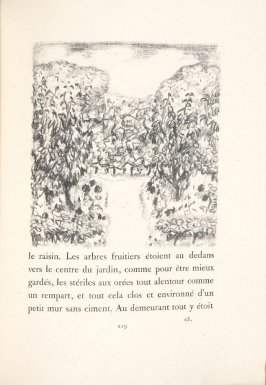 Untitled, pg. 219, in the book Daphnis et Chloé by Longus (translated by Jacques Amyot) (Paris: Ambroise Vollard, 1902).