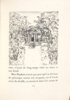 Untitled, pg. 223, in the book Daphnis et Chloé by Longus (translated by Jacques Amyot) (Paris: Ambroise Vollard, 1902).