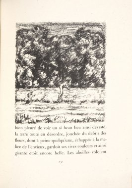 Untitled, pg. 231, in the book Daphnis et Chloé by Longus (translated by Jacques Amyot) (Paris: Ambroise Vollard, 1902).