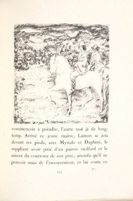 Untitled, pg. 235, in the book Daphnis et Chloé by Longus (translated by Jacques Amyot) (Paris: Ambroise Vollard, 1902).
