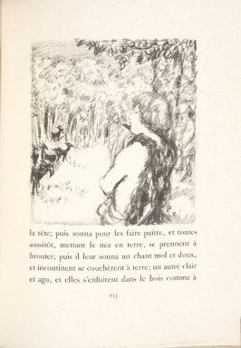 Untitled, pg. 245, in the book Daphnis et Chloé by Longus (translated by Jacques Amyot) (Paris: Ambroise Vollard, 1902).