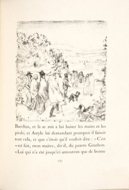 Untitled, pg. 247, in the book Daphnis et Chloé by Longus (translated by Jacques Amyot) (Paris: Ambroise Vollard, 1902).