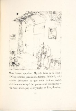 Untitled, pg. 253, in the book Daphnis et Chloé by Longus (translated by Jacques Amyot) (Paris: Ambroise Vollard, 1902).