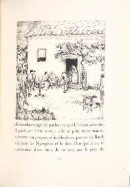 Untitled, pg. 255, in the book Daphnis et Chloé by Longus (translated by Jacques Amyot) (Paris: Ambroise Vollard, 1902).