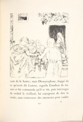 Untitled, pg. 257, in the book Daphnis et Chloé by Longus (translated by Jacques Amyot) (Paris: Ambroise Vollard, 1902).