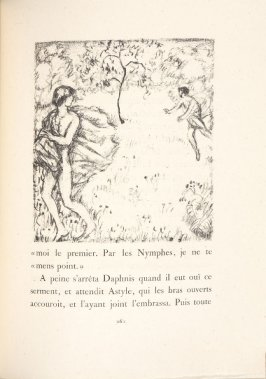 Untitled, pg. 261, in the book Daphnis et Chloé by Longus (translated by Jacques Amyot) (Paris: Ambroise Vollard, 1902).