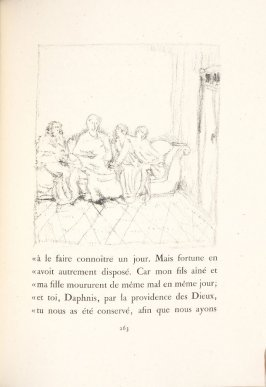 Untitled, pg. 263, in the book Daphnis et Chloé by Longus (translated by Jacques Amyot) (Paris: Ambroise Vollard, 1902).