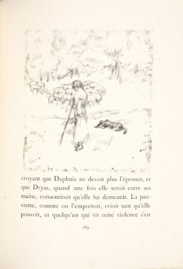 Untitled, pg. 269, in the book Daphnis et Chloé by Longus (translated by Jacques Amyot) (Paris: Ambroise Vollard, 1902).
