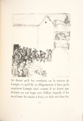 Untitled, pg. 271, in the book Daphnis et Chloé by Longus (translated by Jacques Amyot) (Paris: Ambroise Vollard, 1902).