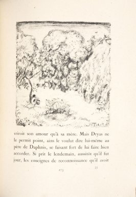 Untitled, pg. 273, in the book Daphnis et Chloé by Longus (translated by Jacques Amyot) (Paris: Ambroise Vollard, 1902).