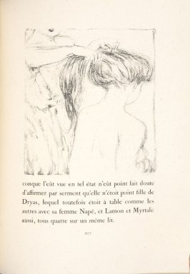 Untitled, pg. 277, in the book Daphnis et Chloé by Longus (translated by Jacques Amyot) (Paris: Ambroise Vollard, 1902).