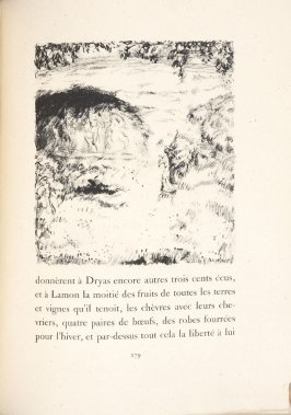 Untitled, pg. 279, in the book Daphnis et Chloé by Longus (translated by Jacques Amyot) (Paris: Ambroise Vollard, 1902).