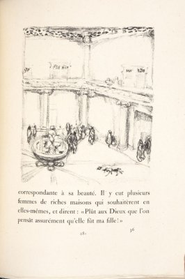 Untitled, pg. 281, in the book Daphnis et Chloé by Longus (translated by Jacques Amyot) (Paris: Ambroise Vollard, 1902).