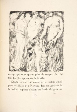 Untitled, pg. 283, in the book Daphnis et Chloé by Longus (translated by Jacques Amyot) (Paris: Ambroise Vollard, 1902).