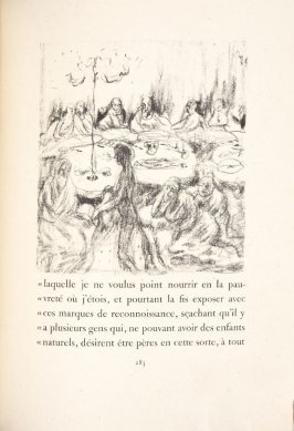Untitled, pg. 285, in the book Daphnis et Chloé by Longus (translated by Jacques Amyot) (Paris: Ambroise Vollard, 1902).