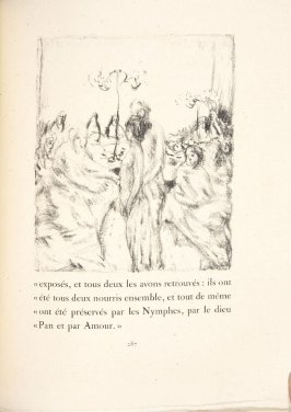 Untitled, pg. 287, in the book Daphnis et Chloé by Longus (translated by Jacques Amyot) (Paris: Ambroise Vollard, 1902).