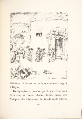 Untitled, pg. 289, in the book Daphnis et Chloé by Longus (translated by Jacques Amyot) (Paris: Ambroise Vollard, 1902).