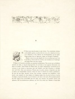 Untitled, headpiece, pg. 17, in the book Dingo by Octave Mirbeau (Paris: Ambroise Vollard, 1924)