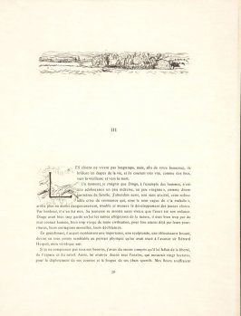 Untitled, headpiece, pg. 29, in the book Dingo by Octave Mirbeau (Paris: Ambroise Vollard, 1924)