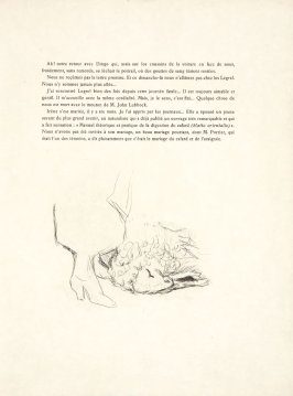 Untitled, tailpiece, pg. 121, in the book Dingo by Octave Mirbeau (Paris: Ambroise Vollard, 1924)
