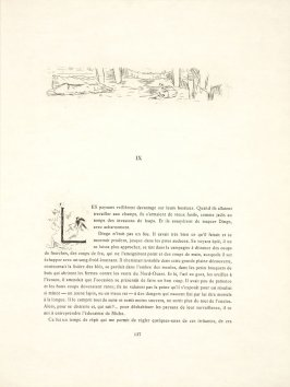 Untitled, headpiece, pg. 137, in the book Dingo by Octave Mirbeau (Paris: Ambroise Vollard, 1924)