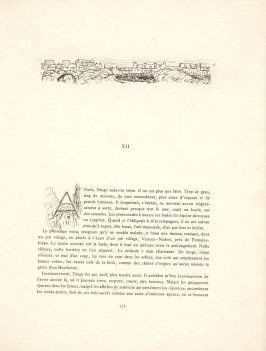 Untitled, headpiece, pg. 175, in the book Dingo by Octave Mirbeau (Paris: Ambroise Vollard, 1924)