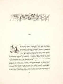Untitled, headpiece, pg. 189, in the book Dingo by Octave Mirbeau (Paris: Ambroise Vollard, 1924)