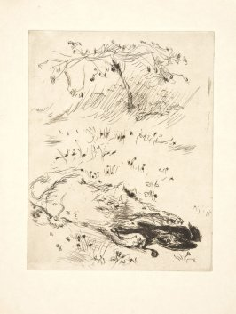 Untitled, to be inserted between pages 142 and 143, suite on Shidzuoka Japanese paper, in the book Dingo by Octave Mirbeau (Paris: Ambroise Vollard, 1924)