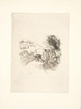 Untitled, to be inserted between pages 32 and 33, suite on Arches laid paper, in the book Dingo by Octave Mirbeau (Paris: Ambroise Vollard, 1924)