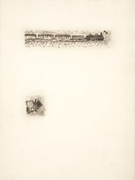 Untitled, working proof of pg. 5 (proof 5 of 5), in the book Dingo by Octave Mirbeau (Paris: Ambroise Vollard, 1924)