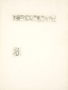 Untitled, working proof of pg. 17 (proof 1 of 3), in the book Dingo by Octave Mirbeau (Paris: Ambroise Vollard, 1924)