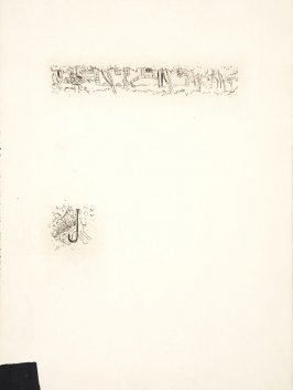 Untitled, working proof of pg. 17 (proof 2 of 3), in the book Dingo by Octave Mirbeau (Paris: Ambroise Vollard, 1924)