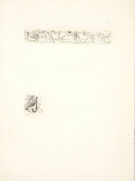 Untitled, working proof of pg. 17 (proof 3 of 3), in the book Dingo by Octave Mirbeau (Paris: Ambroise Vollard, 1924)